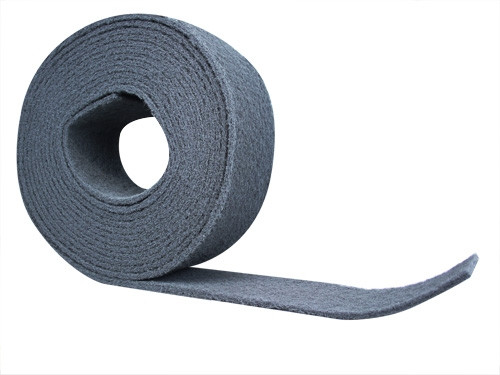 Schleifvlies Rolle ultrafine 115mm x 10m grau